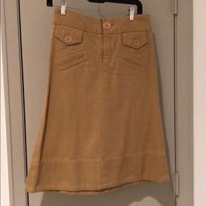 🍎Marc Jacobs Tan  Skirt